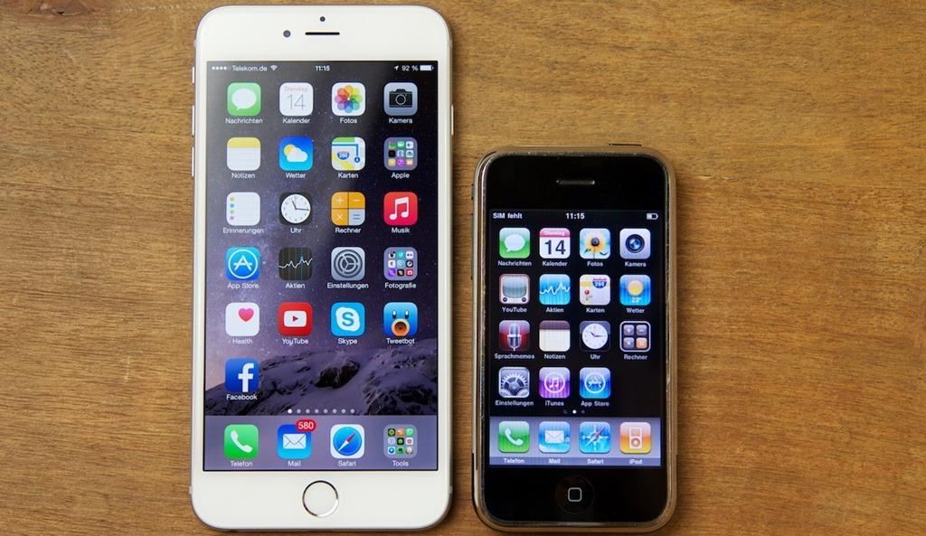 iPhone 7 Plus vs. iPhone 2G - svetapple.sk