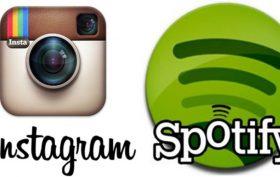 Spotify a Instagram