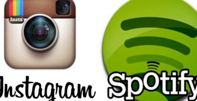 Spotify a Instagram